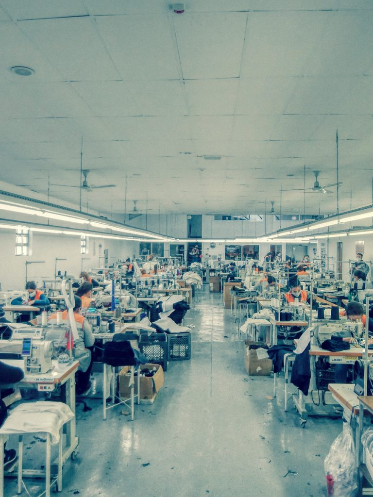 Seamstresses Section