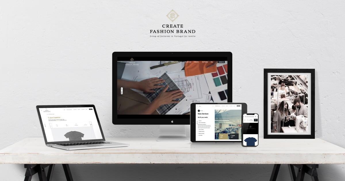 Create Fashion Brand´s New WebSite