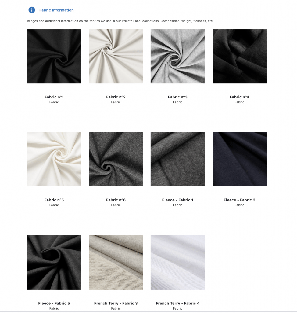 Luxury fabrics  Sustainable made in Portugal for fashion Startups