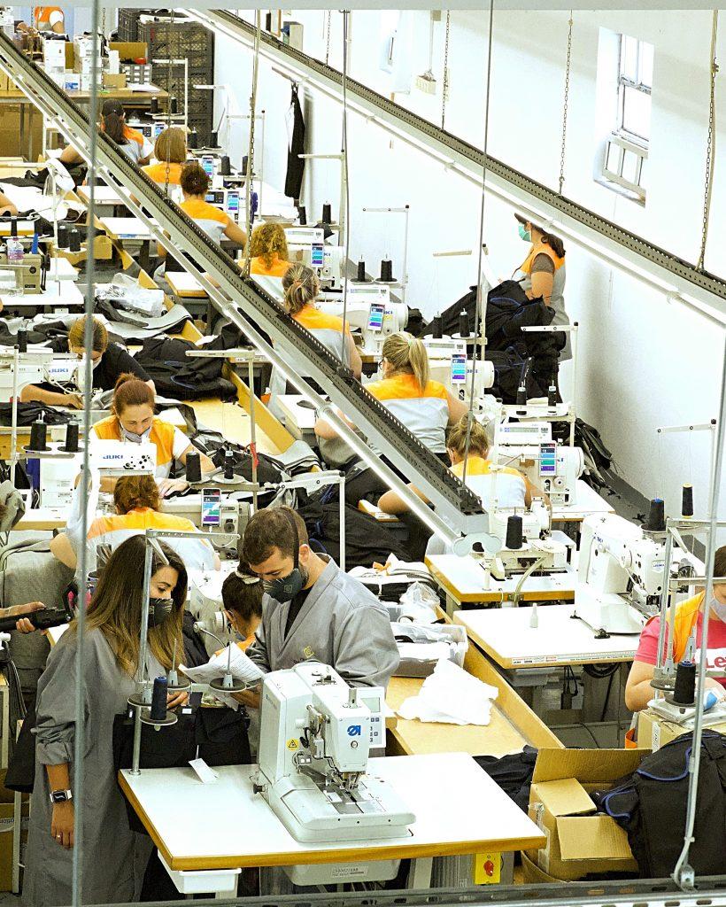 Portuguese Gots Organic Cotton Fabrics for garments factory